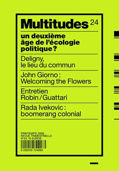 Dialogue Guattari/Robin sur une écologie étendue dans -> CAPTURE de CODES : rubon701