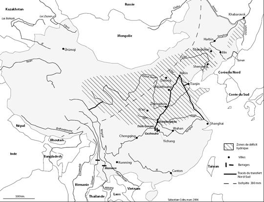 L'eau, facteur d'instabilité en Chine – Perspectives pour 2015 et 2030 dans Entendu-lu-web china