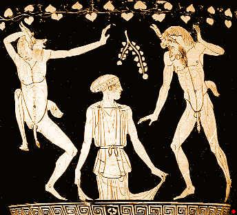 Gaïa et les satyres